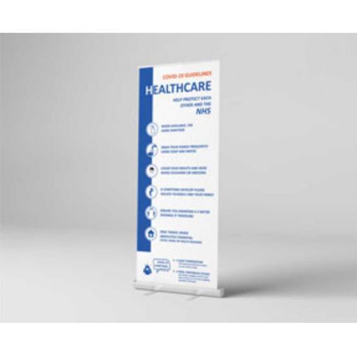 Hygiene Roller Banner