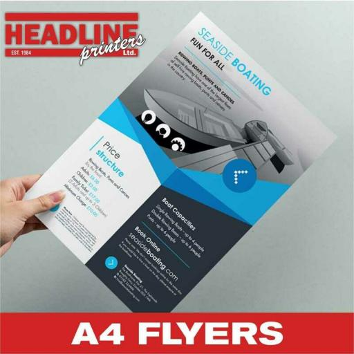 A4 Flyers