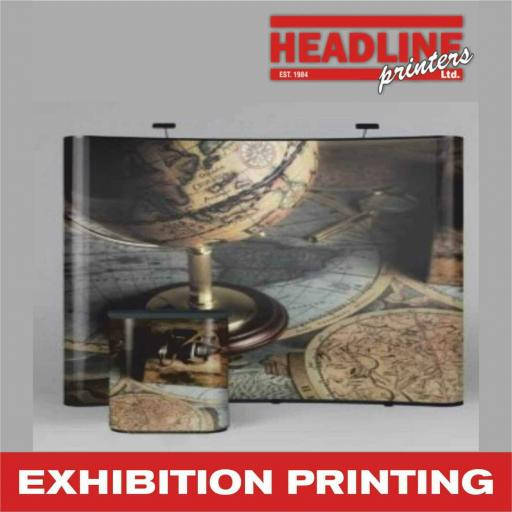 Exhibition Pop-Up Stands (Graphic + Stand)