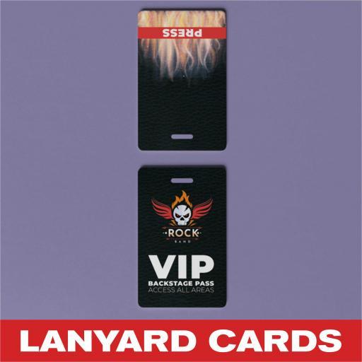 Lanyard Cards