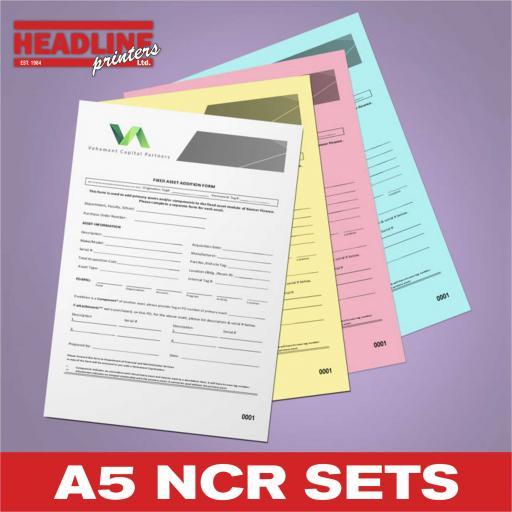 A5 NCR Sets