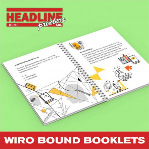 Wiro Bound Booklets