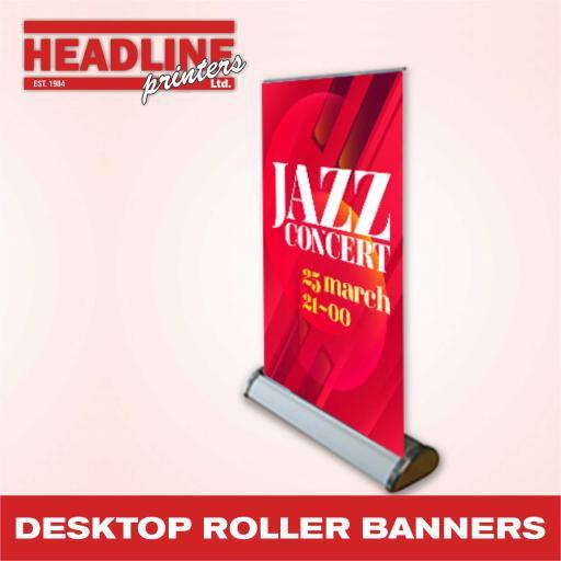Desktop Roller Banners