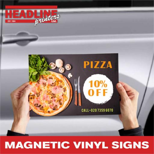 Magnetic Vinyl Signs