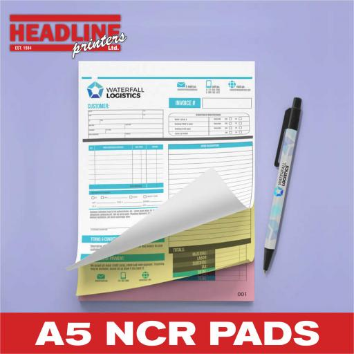 A5 NCR Pads