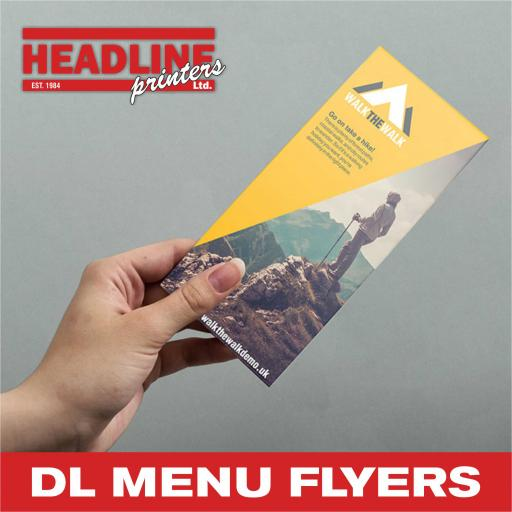 DL Menu Flyers