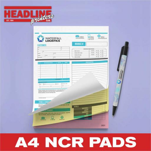 A4 NCR Pads