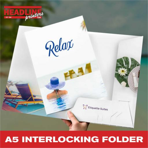 A5 Interlocking Folders