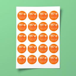 Take Away Stickers