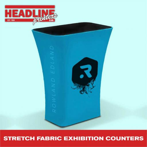 Stretch Fabric Exhibition Counters