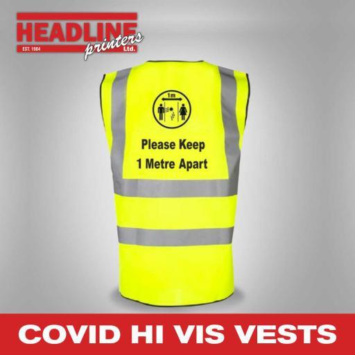 Covid Hi Vis Vests