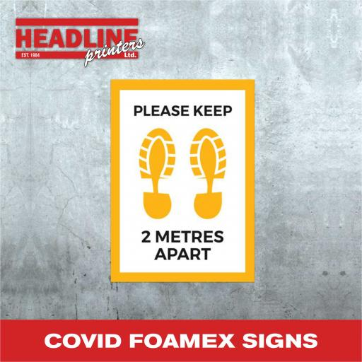 Covid Foamex Boards