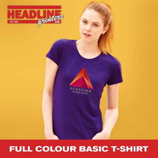 Full Colour Basic T-Shirt