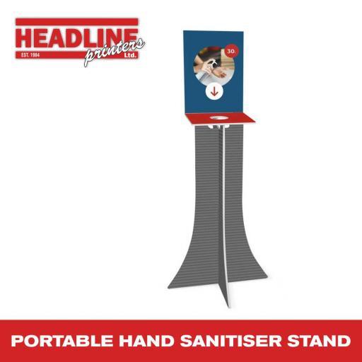 Portable Hand Sanitiser Stand