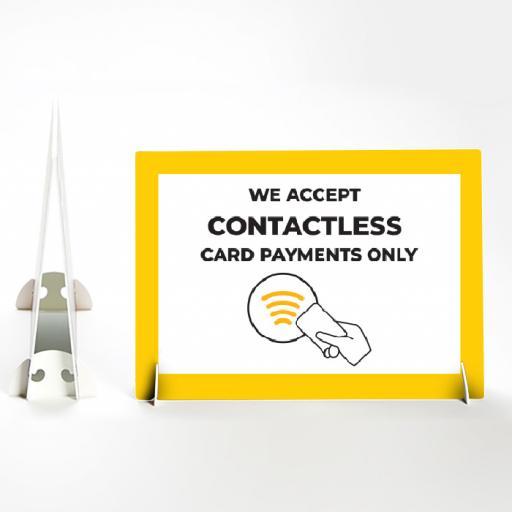 Contactless Payment Landscape Foamex Strut Card.jpg