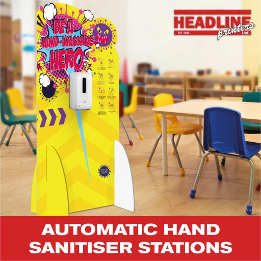 Automatic Hand Sanitiser Stations