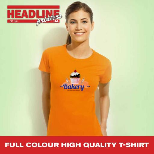 Full Colour High Quality T-Shirt