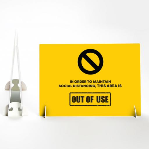 Out of use Landscape Foamex Strut Card.jpg