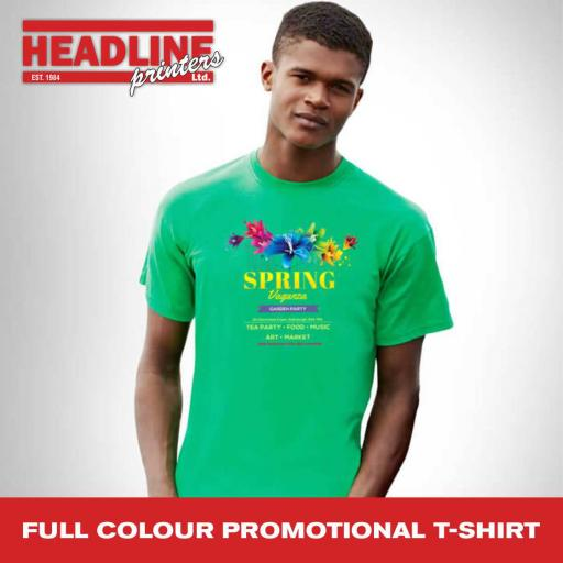 Full Colour Promotional T-Shirt
