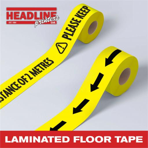 Laminated Floor Tape