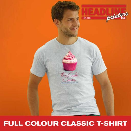 Full Colour Classic T-Shirt