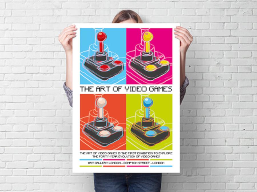 Attention-grabbing poster design ideas