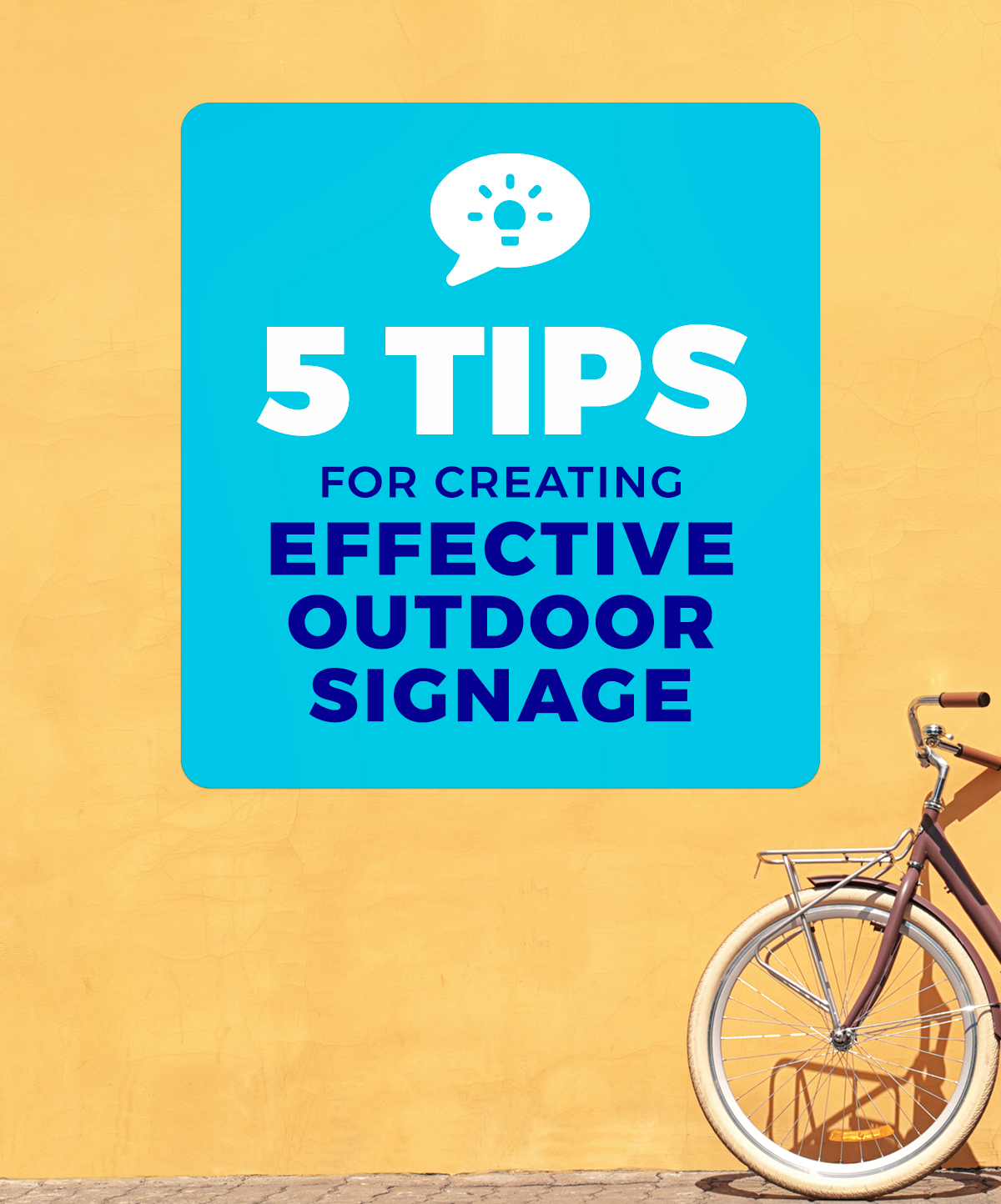 Our top tips for effective signage