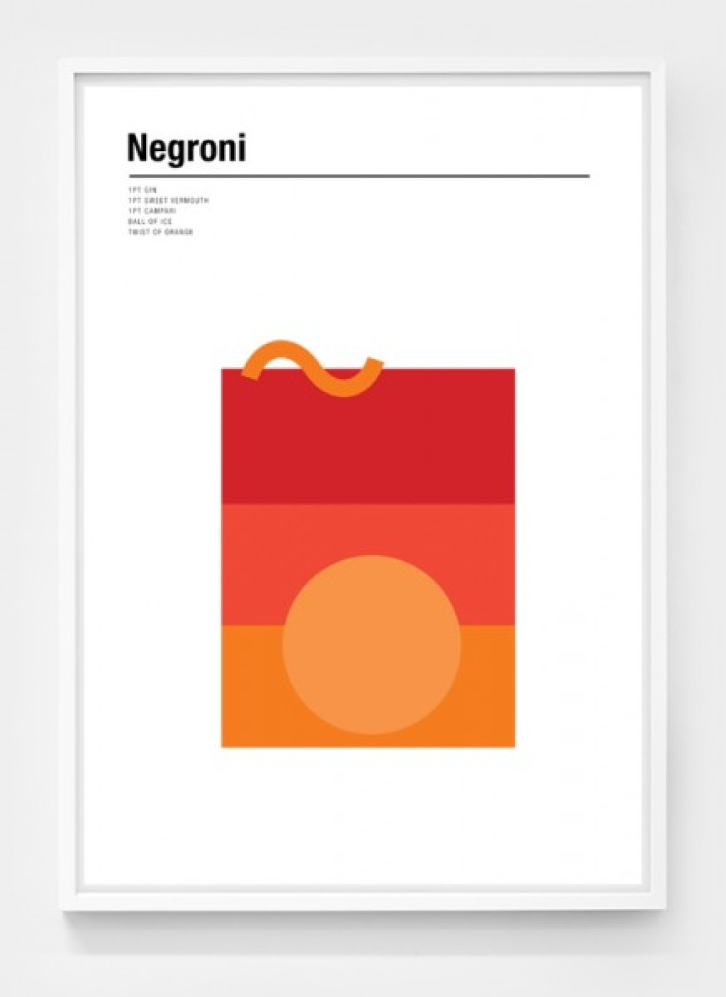 negroni-minimalist-cocktail-poster-by-nick-barclay-designs