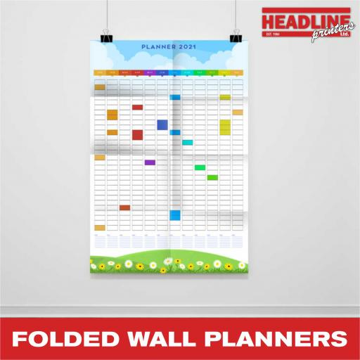 Folded Wall Planners