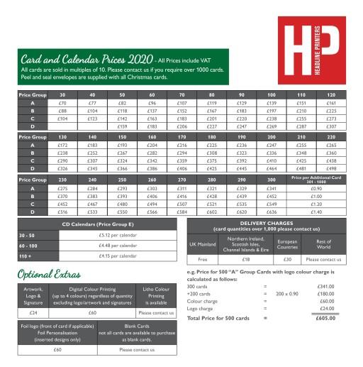 Headline Printers Christmas Card Price List 2020.jpg