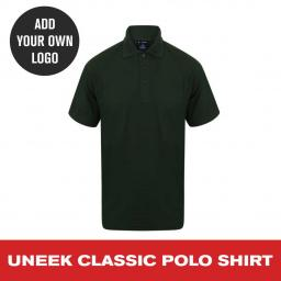Uneek Classic Polo Shirt - Bottle Green.jpg