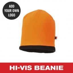 Hi Vis Beanie Hat - Orange.jpg
