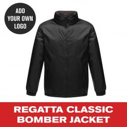 Regatta Classic Bomber Jacket - Black.jpg