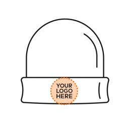 Hi Vis Beanie Hat - Logo on Front Centre.jpg