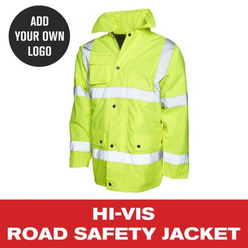 Hi Vis Road Safety Jacket