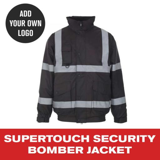 Supertouch Security Bomber Jacket