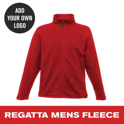 Regatta Mens Full Zip Micro Fleece
