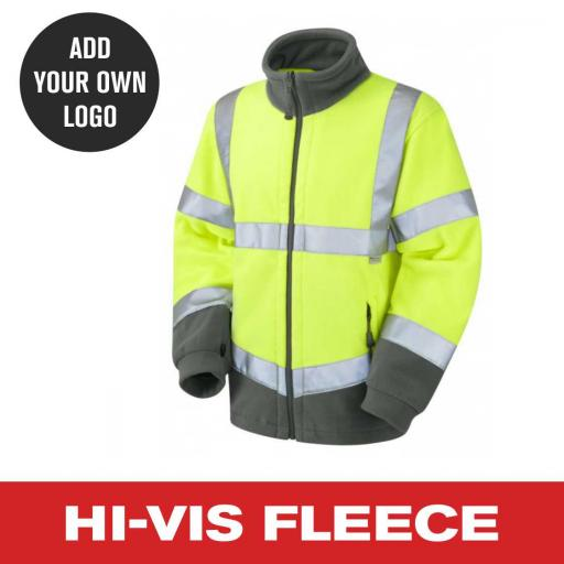 Hi Vis Reversible Fleece